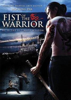 Fist of the Warrior - DVD cover