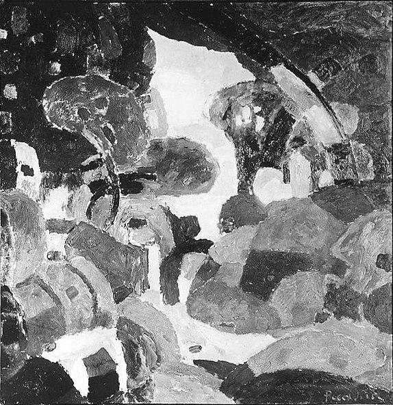 Francis Picabia, ca.1910, Grimaldi après la pluie (after the rain), location unknown