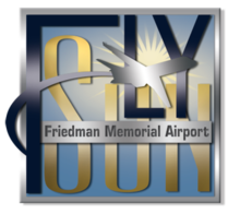 Friedman Memorial Airport Logo.png