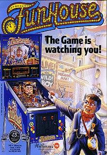 <i>FunHouse</i> (pinball) pinball machine