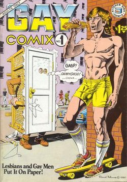 comics drawings cartoon Gay