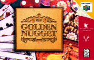 Golden Nugget 64 - North American Nintendo 64 cover art