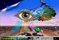A 4096-color HAM interlaced image produced by an Amiga (1989)
