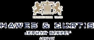 Hawes & Curtis British shirt maker located in Jermyn Street, London