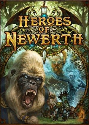 Heroes of Newerth - Image: Hon logo box art
