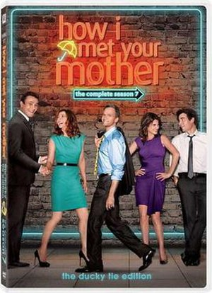 How I Met Your Mother (season 7) - Image: How I Met Your Mother Season 7 DVD