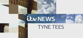 <i>ITV News Tyne Tees</i> British evening television news programme