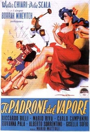 Il padrone del vapore - Film poster