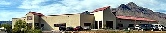 New Mexico Institute of Mining and Technology - The Incorporated Research Institutions for Seismology Program for Array Studies of the Continental Lithosphere (IRIS PASSCAL) Instrument Center, located on the New Mexico Tech Campus.