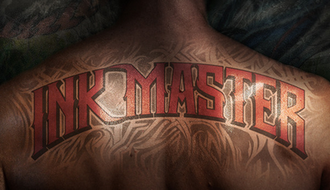 Ink Master - Title card from the first four seasons