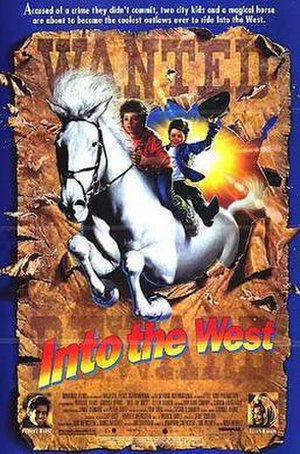 Into the West (film) - Theatrical release poster