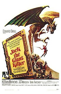 <i>Jack the Giant Killer</i> (1962 film) 1962 film by Nathan H. Juran