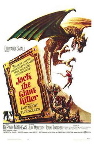 Jack the Giant Killer (1962 film) - Original theatrical poster