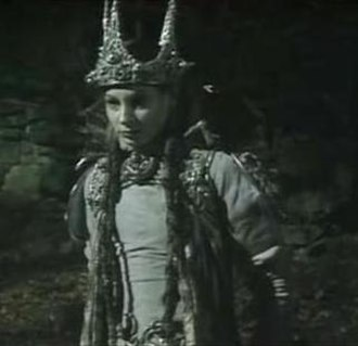White Witch - Jadis, the White Witch, portrayed by Barbara Kellerman in the BBC miniseries The Chronicles of Narnia (1988, season 1).