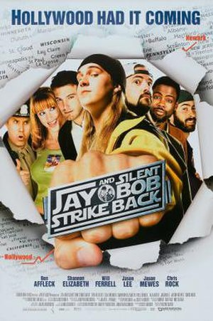 Jay and Silent Bob Strike Back - Theatrical release poster