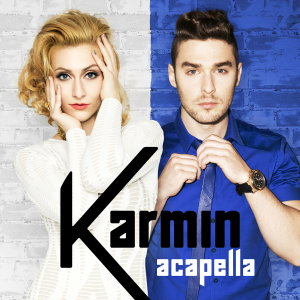 Acapella (Karmin song) - Image: Karmin Acapella (Official Single Cover)