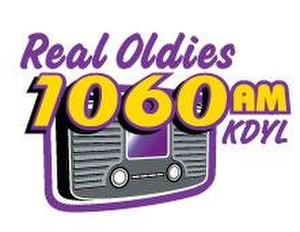KDYL - Station's logo as Real Oldies 1060