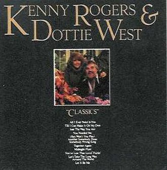 Classics (Kenny Rogers and Dottie West album) - Image: Kenny Rogers Classics