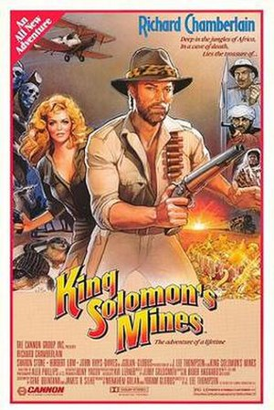 King Solomon's Mines (1985 film) - Theatrical release poster