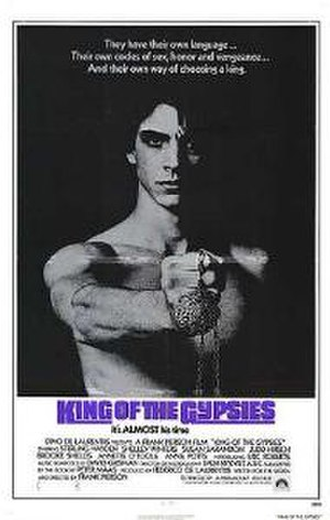 King of the Gypsies (film) - Theatrical release poster by Sanford Kossin