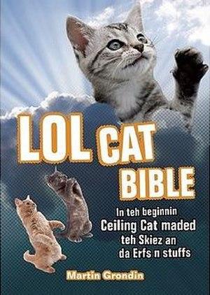 LOLCat Bible Translation Project - Image: LOL Cat Bible