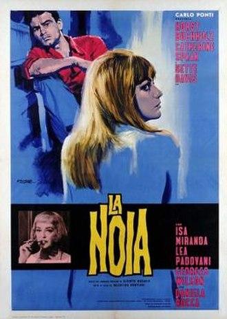 The Empty Canvas - Image: La noia poster