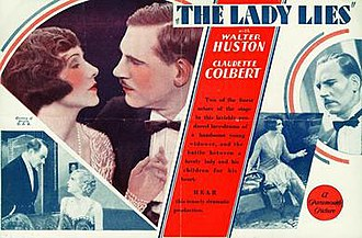 The Lady Lies (film) - Image: Ladyliesposter