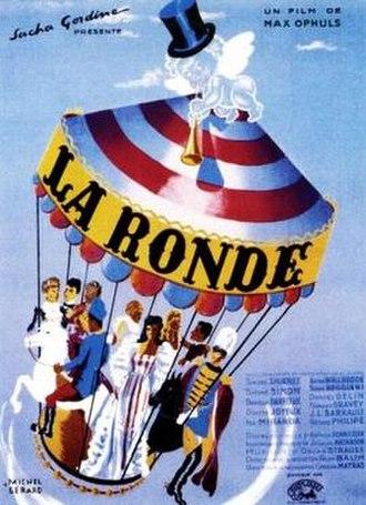 La Ronde (1950 film) - Theatrical poster