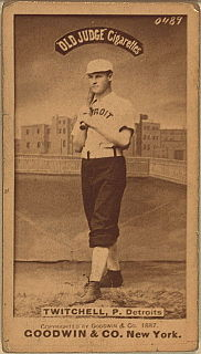 Larry Twitchell American baseball player