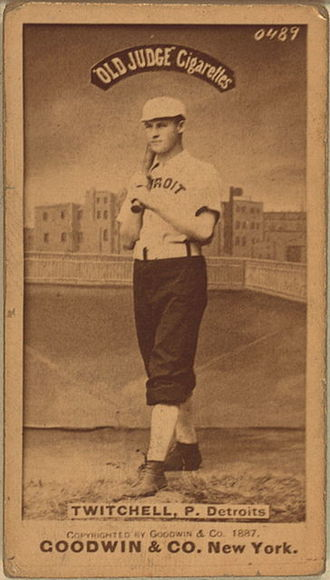 Larry Twitchell - Image: Larry Twitchell Baseball Card