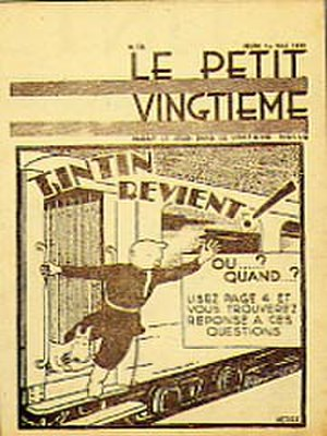 Tintin in the Land of the Soviets - Image: Le Petit Vingtieme, Tintin in the Land of the Soviets