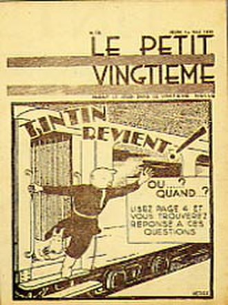 The Adventures of Tintin - Image: Le Petit Vingtieme, Tintin in the Land of the Soviets