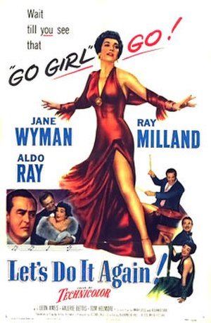 Let's Do It Again (1953 film) - Theatrical release poster