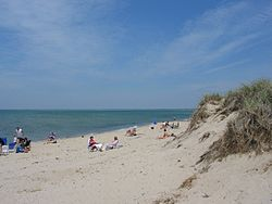 Linnell Landing Beach, on Cape Cod Bay