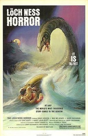 The Loch Ness Horror - Theactrical poster for The Loch Ness Horror