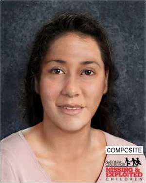 Long Beach Jane Doe - Most recent reconstruction of the victim