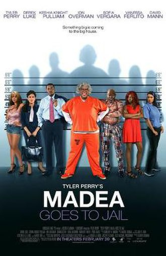 Madea Goes to Jail - Theatrical release poster