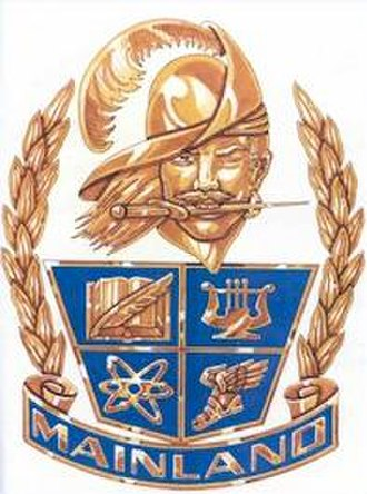 Mainland High School - Image: Mainland Coat of Arms
