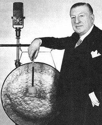 Major Bowes Amateur Hour - Major Edward Bowes and gong.