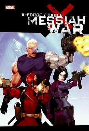 Messiah War - Image: Messiah War TPB