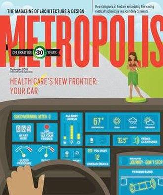 Metropolis (architecture magazine) - Metropolis Magazine December 2011 cover