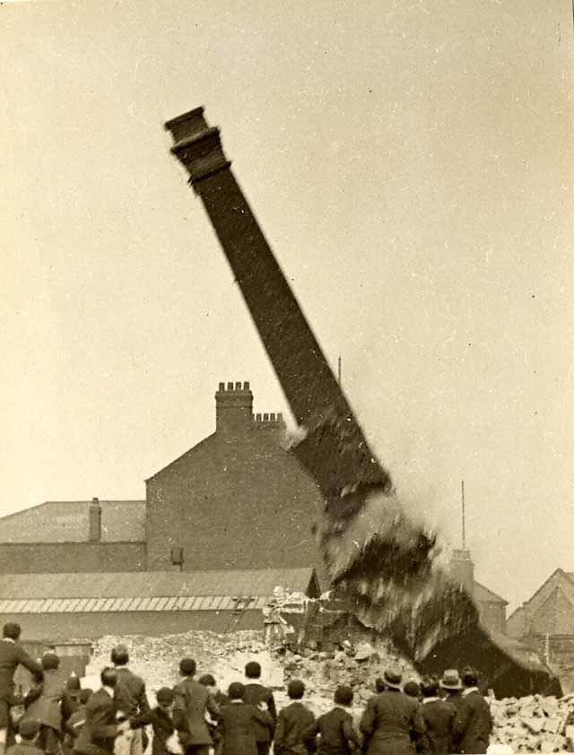Mill Chimney, Blackburn, UK