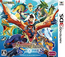 Monster Hunter Stories cover art