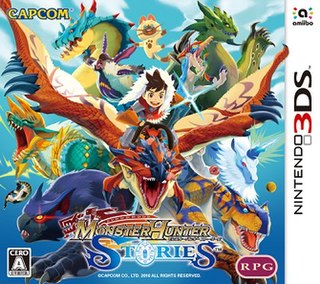 <i>Monster Hunter Stories</i> role-playing video game developed by Marvelous