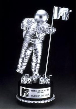 "MTV Video Music Award - The 1983-1984 Video of the Year ""Moon Person"" award."