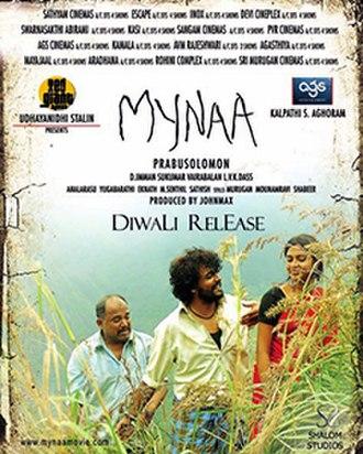 Mynaa - Theatrical poster