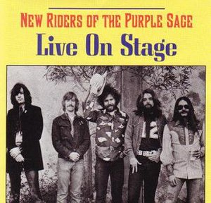 Live on Stage (New Riders of the Purple Sage album) - Image: NRPS Live On Stage