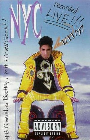 NYC (Prince EP) - Image: NYCLIVE