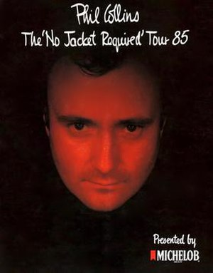 The No Jacket Required World Tour - Image: No Jacket Required Tour 85