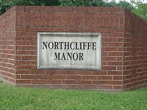 Northcliffe Manor, Texas - Northcliffe Manor